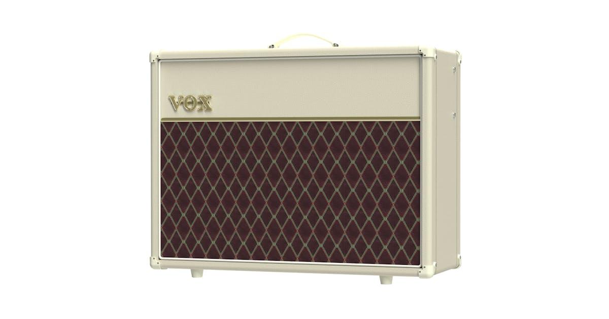 vox ac30s1 cb cream bronco 1x12 single channel tube amp combo andertons music co. Black Bedroom Furniture Sets. Home Design Ideas