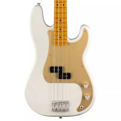 Fender '50s Lacquer Precision Bass Lacquer in White Blonde