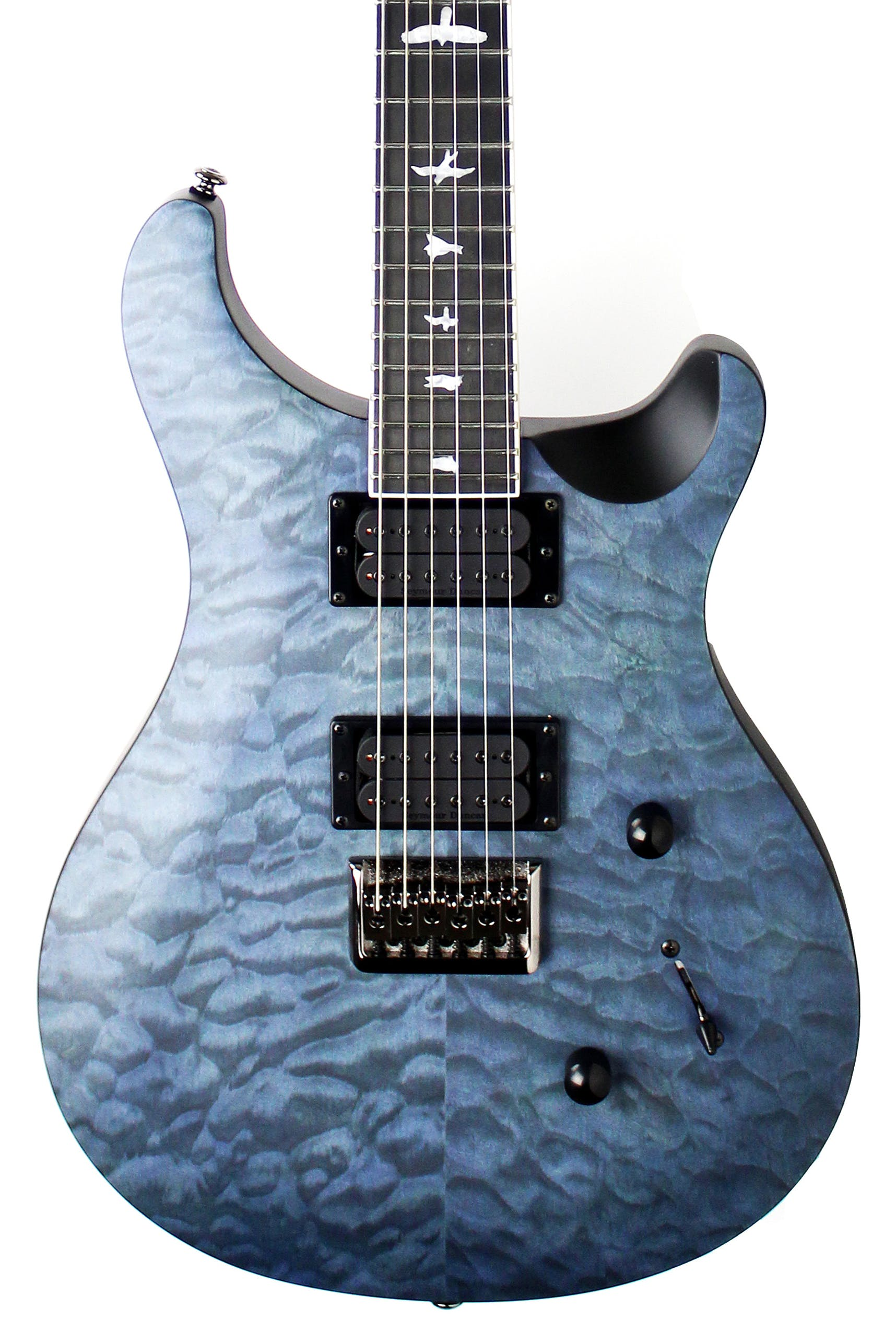 Prs Se Mark Holcomb Limited Edition In Satin Whale Blue Andertons