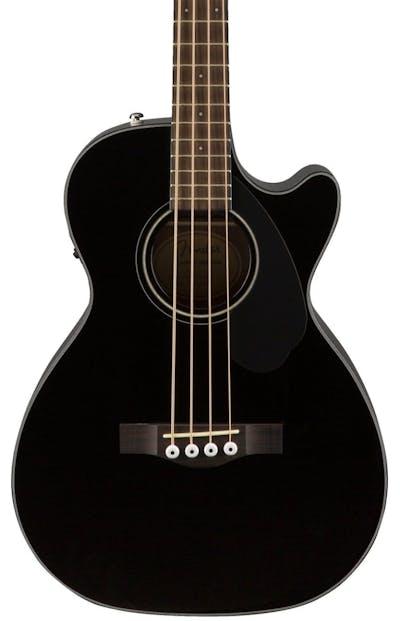 Fender Classic Design Cb 60sce Acoustic Bass Guitar In Black