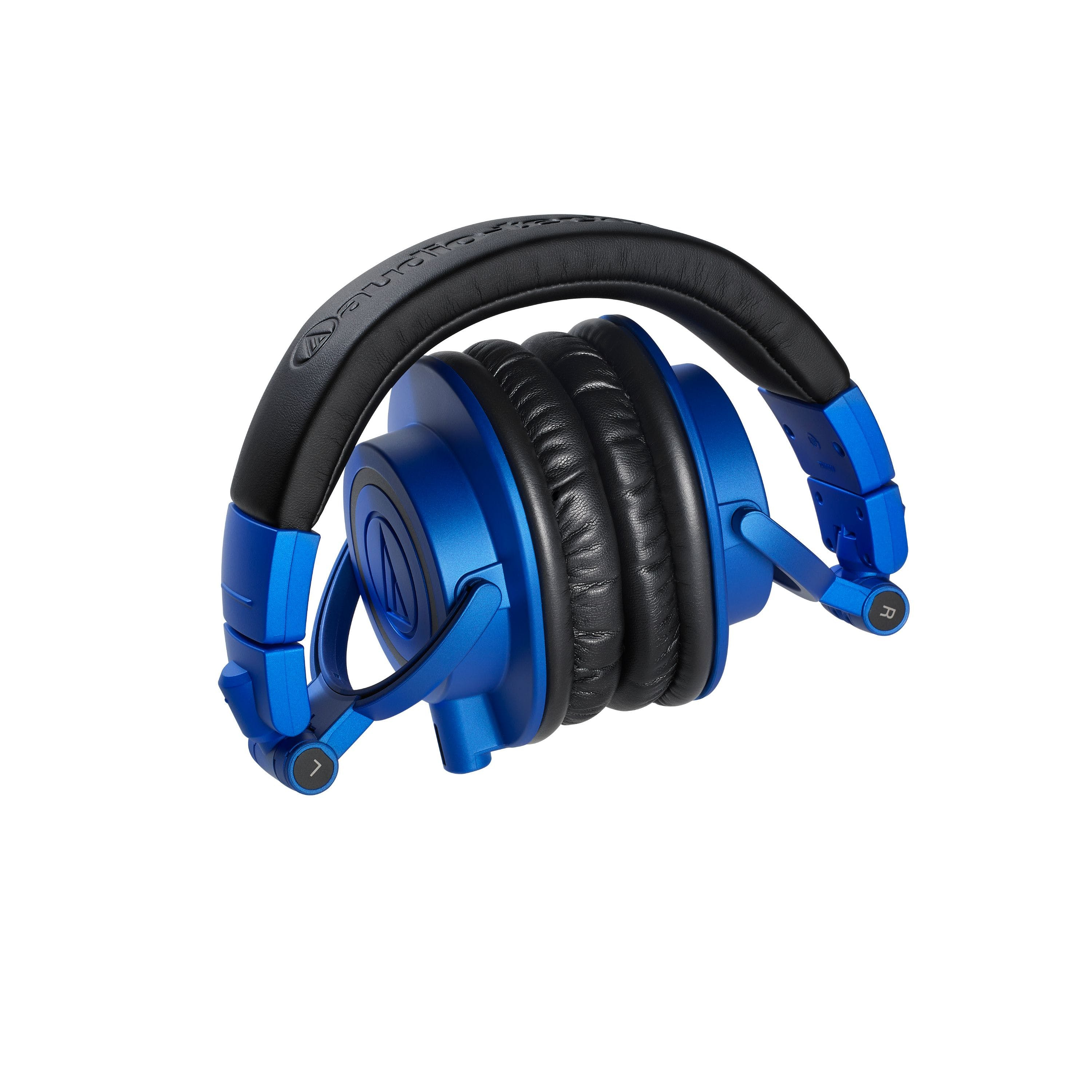ba86afceb3e Audio-Technica ATH-M50X Pro Monitor Headphones in Limited Edition Blue    Black - Andertons Music Co.