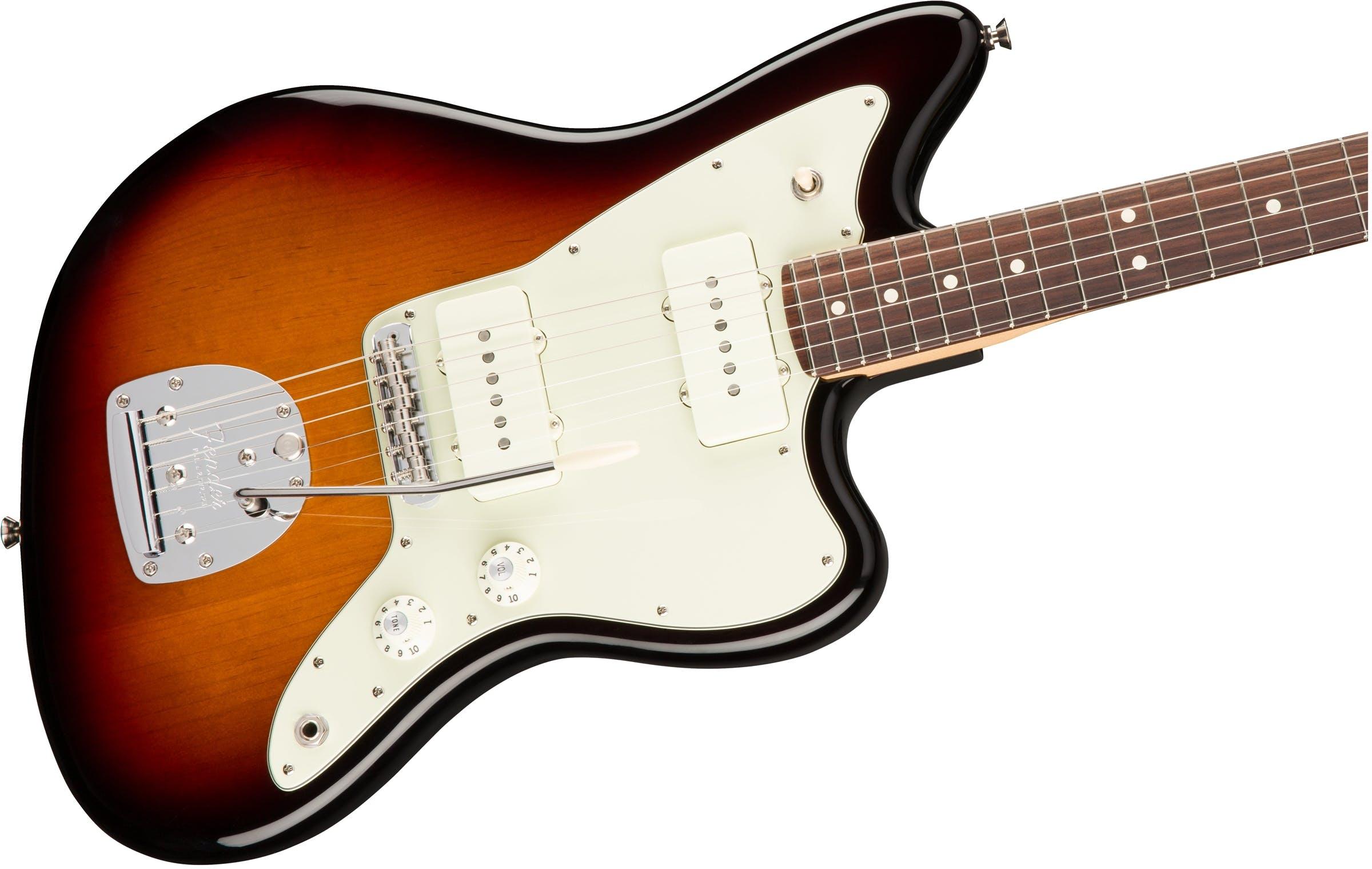 Fender American Professional Jazzmaster Wiring Diagram Wire Center Series Rw 3 Tone Sunburst Rh Andertons Co Uk Jaguar Hh Strat Plus