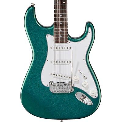 G&L USA Fullerton Standard Legacy in Emerald Blue Metallic