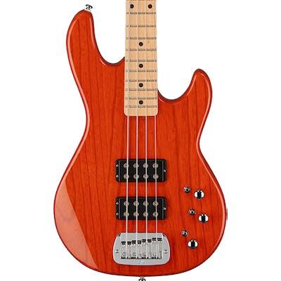 G&L Tribute L-2000 Bass in Clear Orange