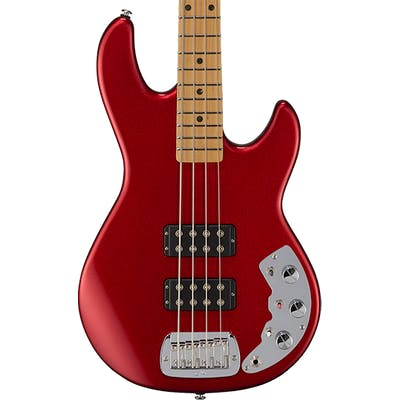 G&L CLF Research L-2000 Bass in Candy Apple Red