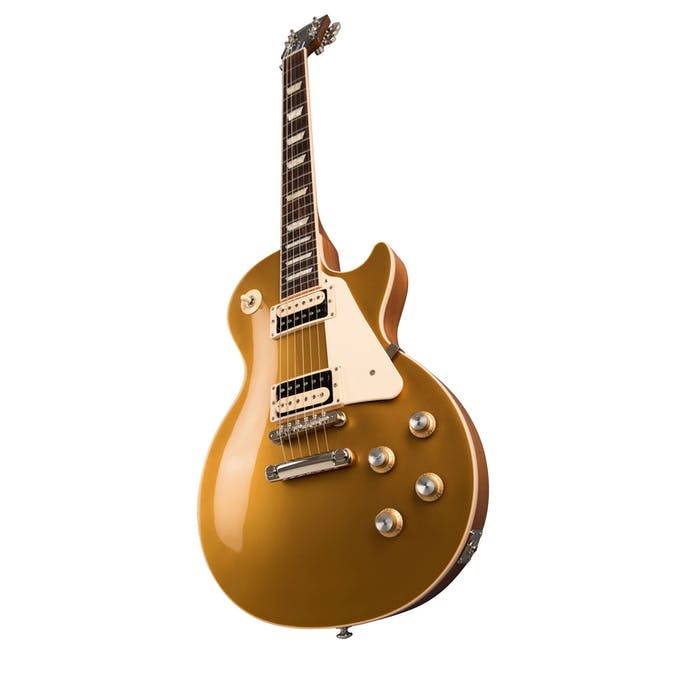 39c06372f9 Gibson USA 2019 Les Paul Classic In Gold Top - Andertons Music Co.
