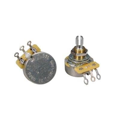 CTS 500K Linear Potentiometer Standard Length Bushing & Split Shaft