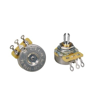 CTS 250K Audio Potentiometer with Short Bushing & Split Shaft