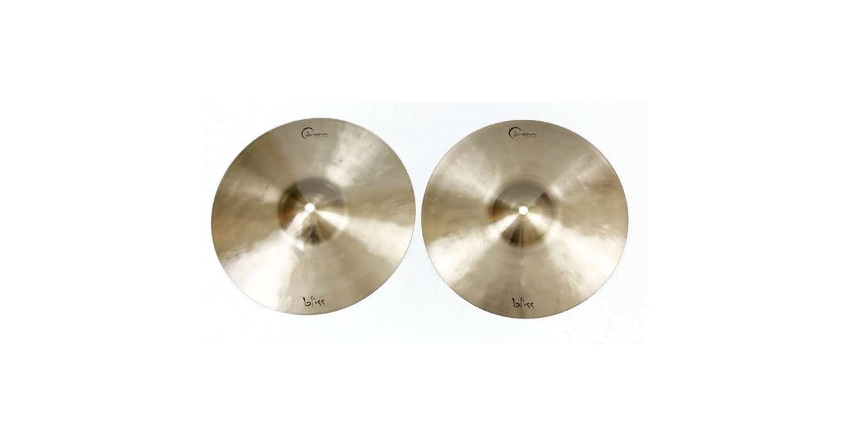 dream cymbals bliss series hi hat 15 andertons music co music co. Black Bedroom Furniture Sets. Home Design Ideas