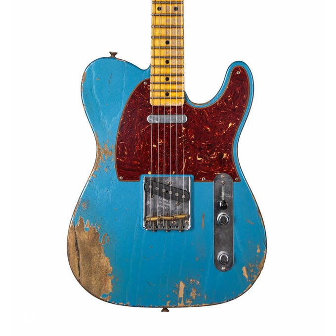 Fender custom shop reissue 52 tele heavy relic lake placid blue fender custom shop reissue 52 telecaster heavy relic mn lake placid blue tortoiseshell pickguard publicscrutiny Gallery