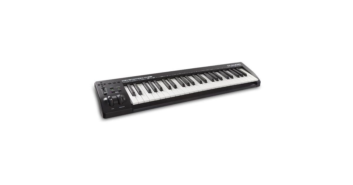 m audio keystation 49 mk3 usb keyboard controller andertons music co. Black Bedroom Furniture Sets. Home Design Ideas