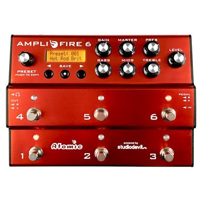 Atomic AmpliFIRE 6 Modelling Amp & Multi-Effects Pedal