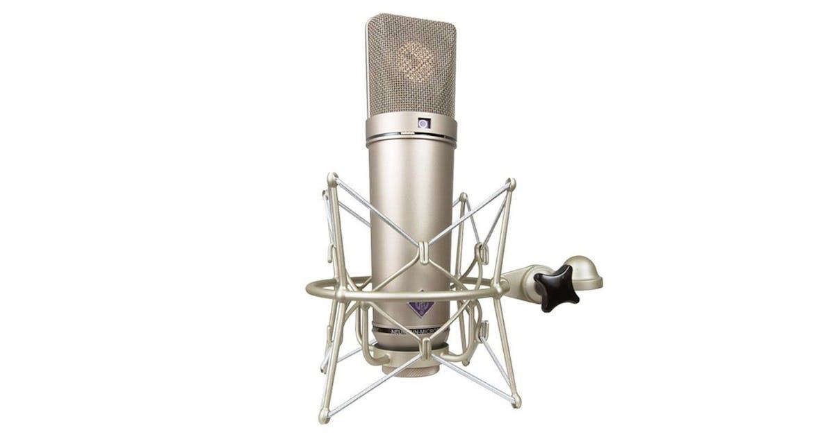neumann u87 ai microphone in nickel finish w ea87 shockmount andertons music co. Black Bedroom Furniture Sets. Home Design Ideas