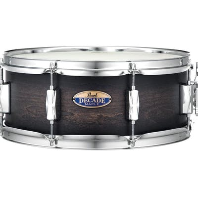 Pearl Decade Maple Series Snare 14x5.5 in Satin Black Burst