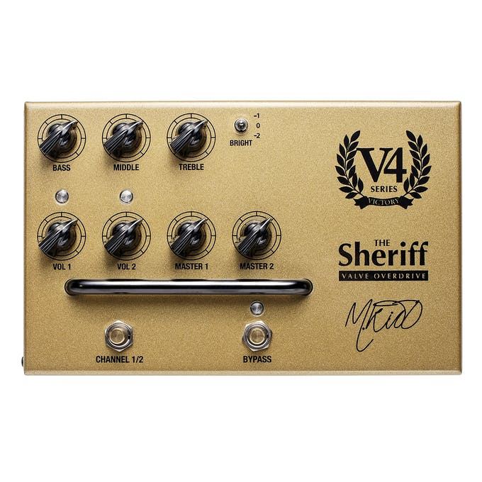 Victory V4 Sheriff Preamp Pedal - Andertons Music Co