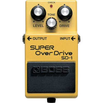 Boss SD-1 Super Overdrive Compact Pedal