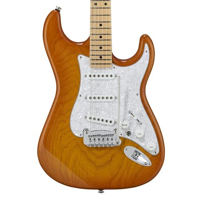G&L USA Fullerton Deluxe S-500 in Honeyburst