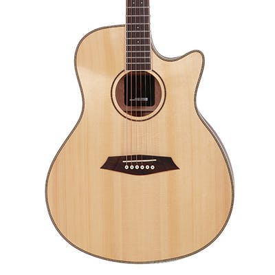 Sire R3 GZ Grand Auditorium Acoustic Guitar with Outboard Preamp