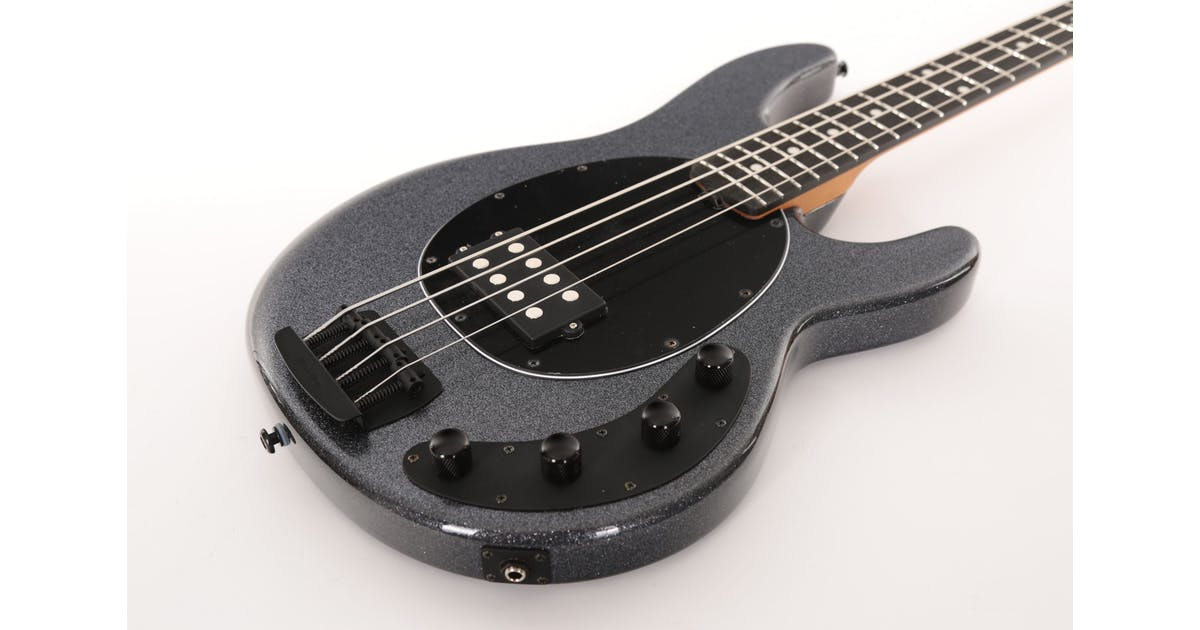 Stingray Bass Charcoal : music man stingray in charcoal sparkle with roasted maple neck andertons music co ~ Russianpoet.info Haus und Dekorationen