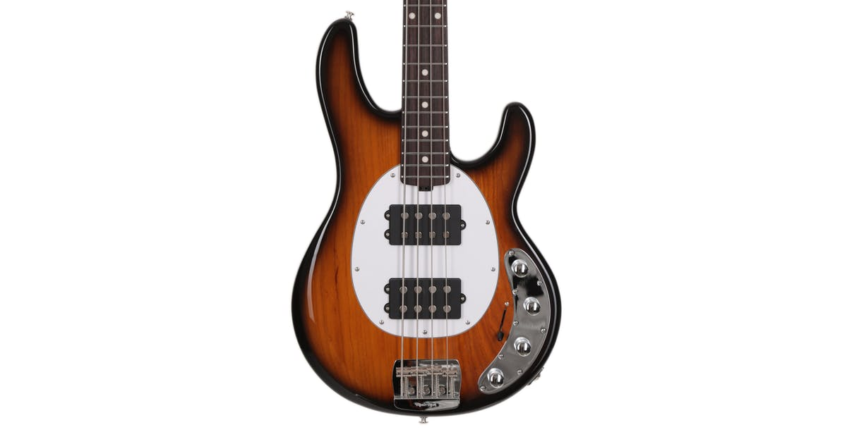 music man stingray hh in vintage tobacco with roasted maple neck rw fingerboard andertons. Black Bedroom Furniture Sets. Home Design Ideas