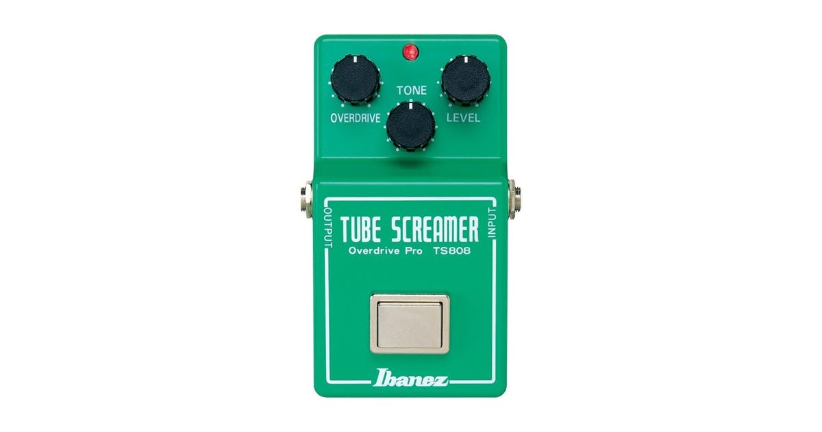 Ibanez TS808 Reissue Tube Screamer Pedal - Andertons Music Co
