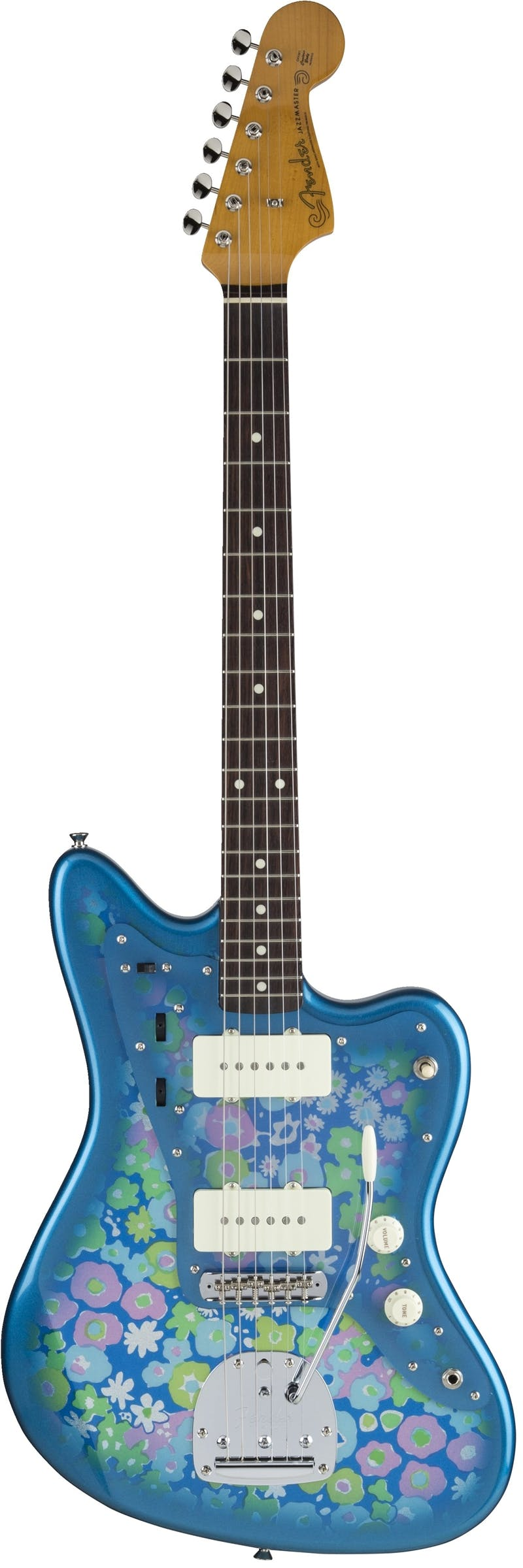 Fender MIJ Traditional \'60s Jazzmaster in Blue Flower - Andertons ...