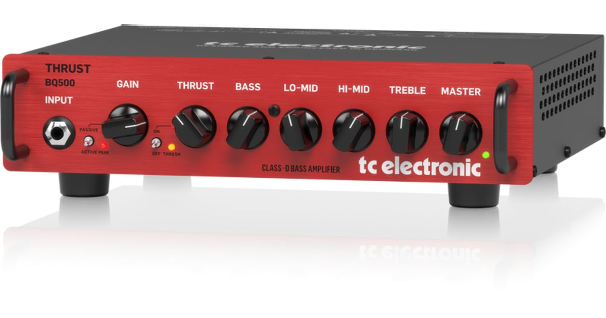 tc electronic bq500 compact bass head andertons music co. Black Bedroom Furniture Sets. Home Design Ideas