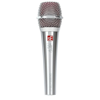 sE Electronics V7 BFG Special Edition - Super-cardioid Dynamic Vocal Mic - CHROME