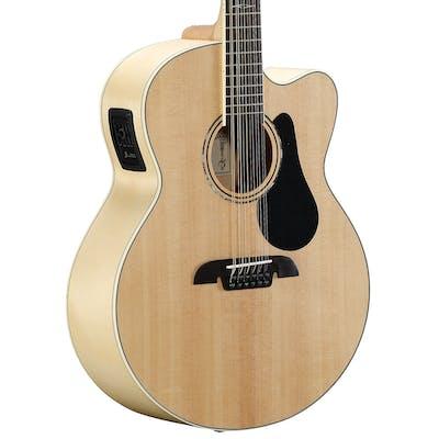 Alvarez AJ80CE-12 Artist Jumbo Electro-Acoustic 12-String Guitar