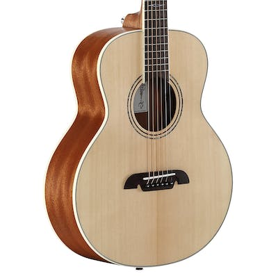 Alvarez LJ2E Artist Little Jumbo Acoustic Travel Guitar in Natural