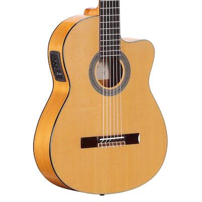 B Stock : Alvarez Cadiz Flamenco CF6E Electro Acoustic in Natural
