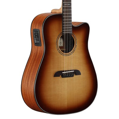 Alvarez AD60CESHB Artist 60 Series Dreadnought Electro-Acoustic Shadowburst