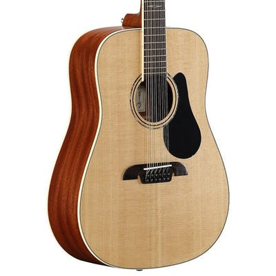 Alvarez AD60-12 Artist 60 Series Dreadnought 12-String Acoustic Guitar