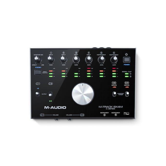 M Audio M-Track 8X4M USB-C Audio Interface - andertons-cas