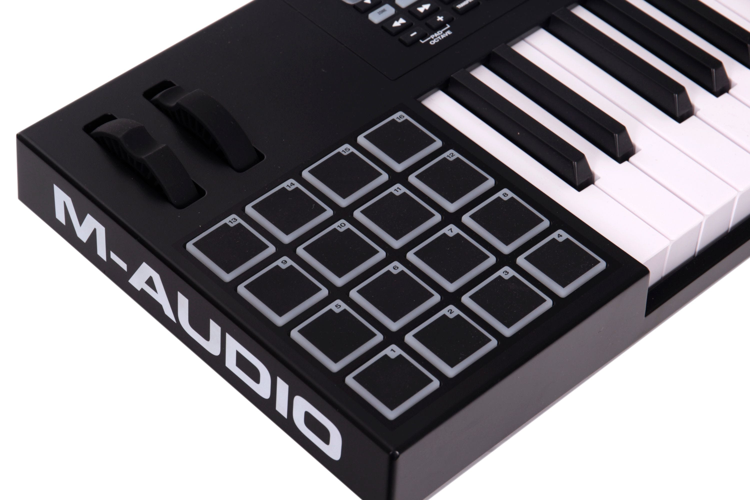 B Stock : M-Audio Code 61 Controller Keyboard in Black - Andertons Music Co.