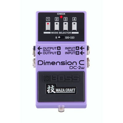 Boss DC-2W Waza Craft Dimension C Chorus Pedal