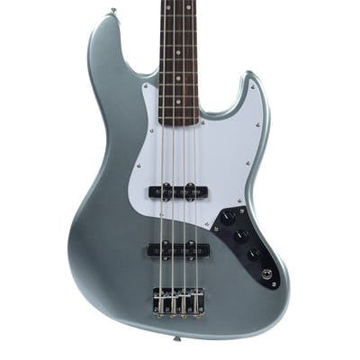 Squier Affinity Jazz Bass in Slick Silver