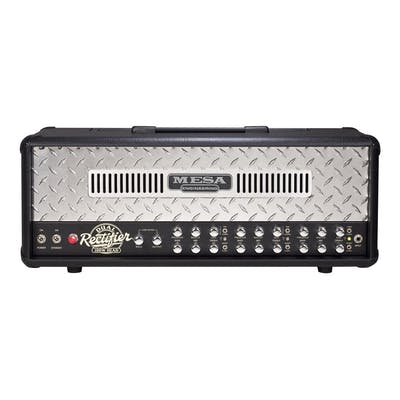 Mesa Boogie Dual Rectifier Classic With Chrome Tread Plate