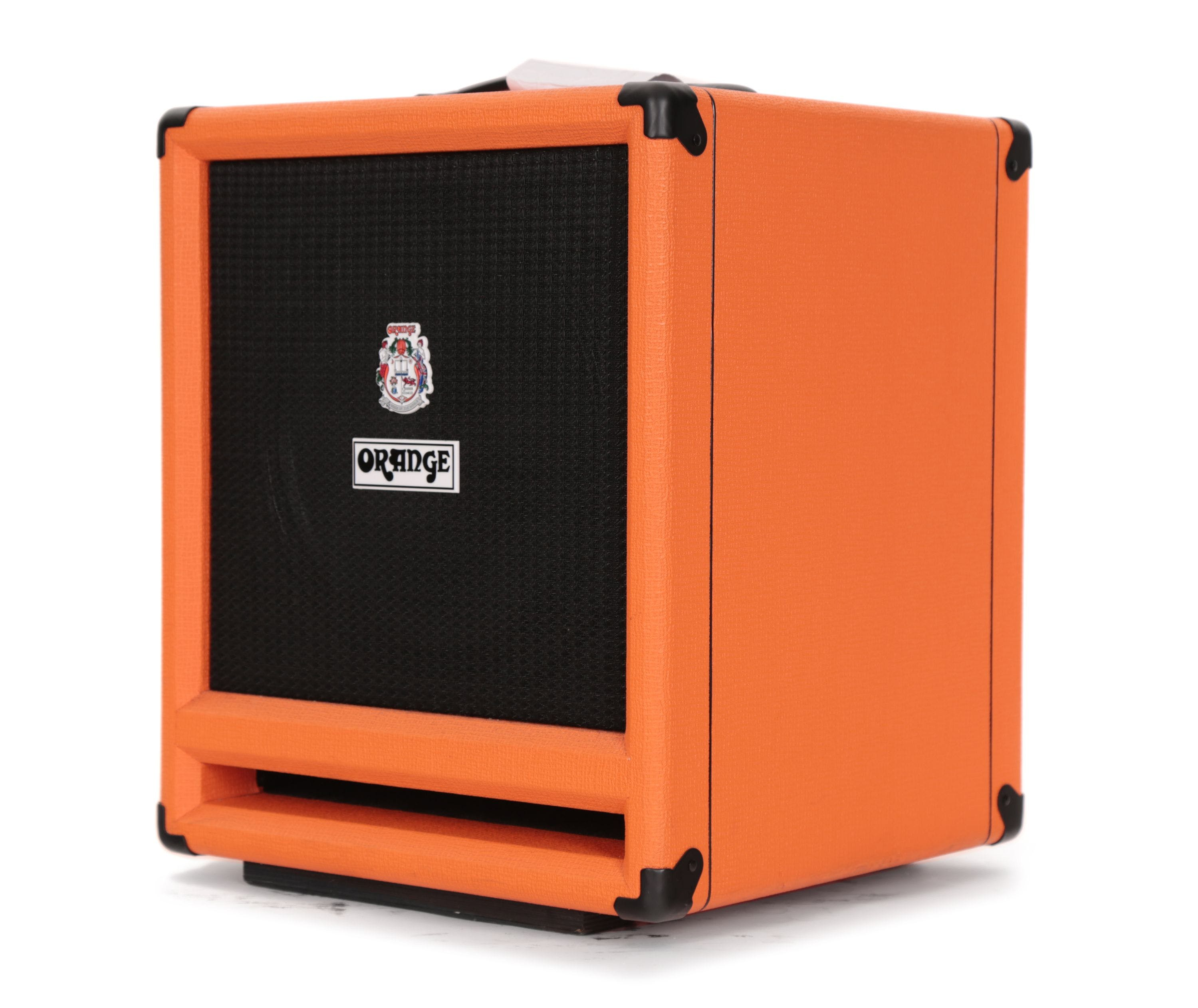 Second Hand Orange Isobaric 2x12 Bass Cabinet Andertons Music Co