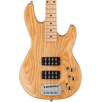 G&L Tribute L-2000 Bass in Natural Gloss, Maple Neck