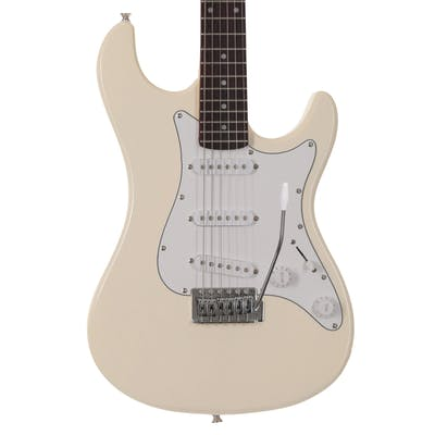 EastCoast GS100 Electric Guitar in Arctic White