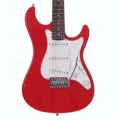 EastCoast GS100 Electric Guitar In Race Red