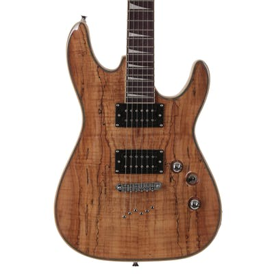 Eastcoast GV320 electric guitar in Spalted Maple