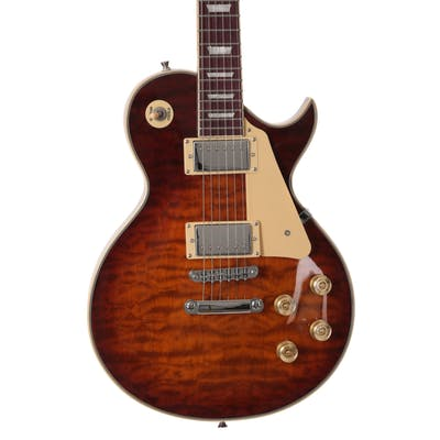 Eastcoast GL130 electric guitar in Tobacco burst