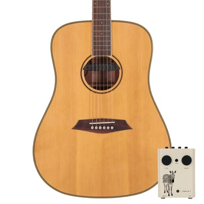 Sire R3 DZ Dreadnought Acoustic Guitar with Outboard Preamp