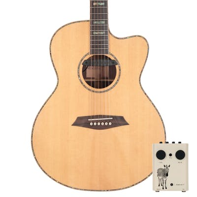 Sire R7 GZ Grand Auditorium Acoustic Guitar with Outboard Preamp