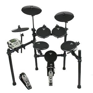 Tourtech Tt16s Drum Kit Amp Accessories Inc Headphones Sticks Throne