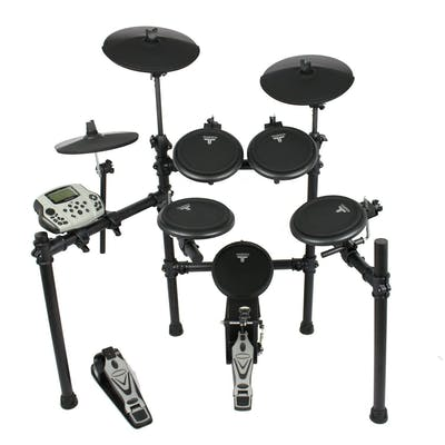 TourTech TT16S Drum Kit & Accessories inc. Headphones, Sticks & Throne