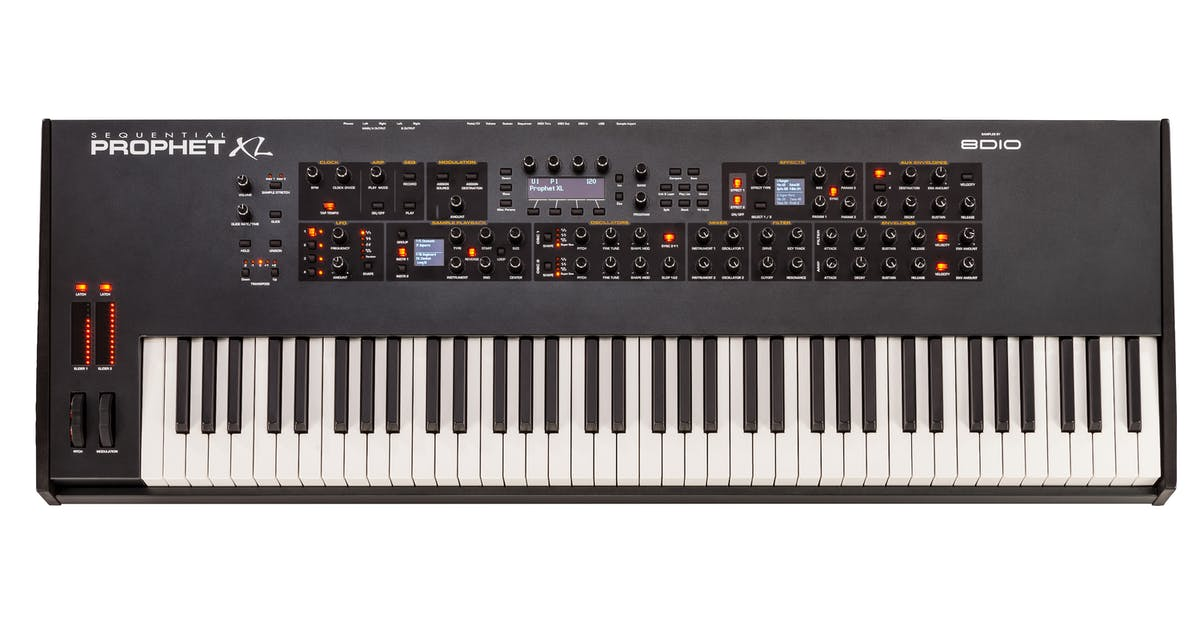 sequential prophet xl synthesizer andertons music co. Black Bedroom Furniture Sets. Home Design Ideas