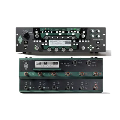 Kemper Profiling Amp Rack With Remote Footswitch Set